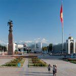 Площадь Ала-Тоо — центральная площадь Бишкека