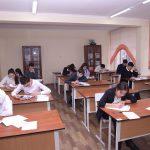 В Бишкеке проходит городская олимпиада школьников