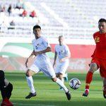 Сборная Кыргызстана проиграла Китаю на Кубке Азии