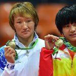 Суйунчу! Айсулуу Тыныбекова третий раз стала чемпионкой Азии — видео