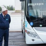 Новые автобусы в Бишкеке — водители будут в костюмах и галстуках