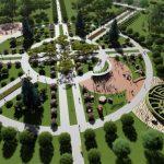 В Бишкеке начали строить большой парк площадью 10 га — эскизы и фото