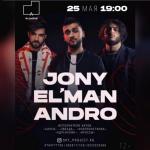 JONY, ANDRO, EL'MAN в «Асанбай» центре