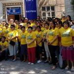 В центре Бишкеке митинговали люди в желтых футболках — чего они хотели.
