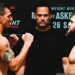 Рафаэль Физиев одержал первую победу в UFC — одолел американца