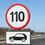 В Кыргызстане легковым авто разрешили ездить со скоростью 110 км/ч