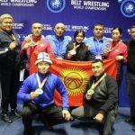 Кыргызстанцы завоевали 5 золотых медалей на Чемпионате мира по алышу
