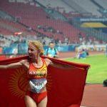 Кыргызстанская бегунья Дарья Маслова завоевала путевку на Олимпиаду–2020