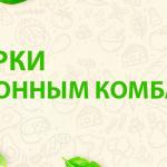 ПОДАРКИ К КУХОННЫМ КОМБАЙНАМ