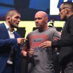 Глава UFC заявил, что нашел место для проведения боя Хабиба и Фергюсона