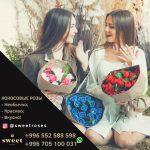 Впервые в Кыргызстане, Кокосовые Розы — необычный, красивый и вкусный подарок