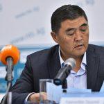 Пресс-конференция Камчыбека Ташиева на посту председателя ГКНБ