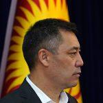 Садыр Жапаров выступил с обращением в качестве и.о. президента