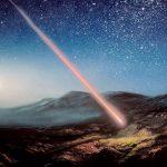 К западу от Бишкека возможно упал метеорит
